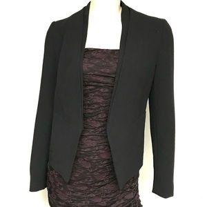 Topshop open front blazer